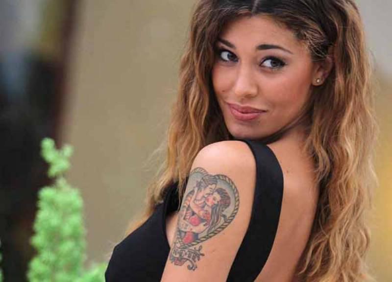 Belen Rodriguez e il mistero del tatuaggio