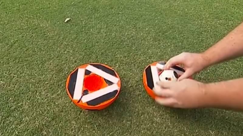 I-Ball il primo pallone robot per gli ipovedenti