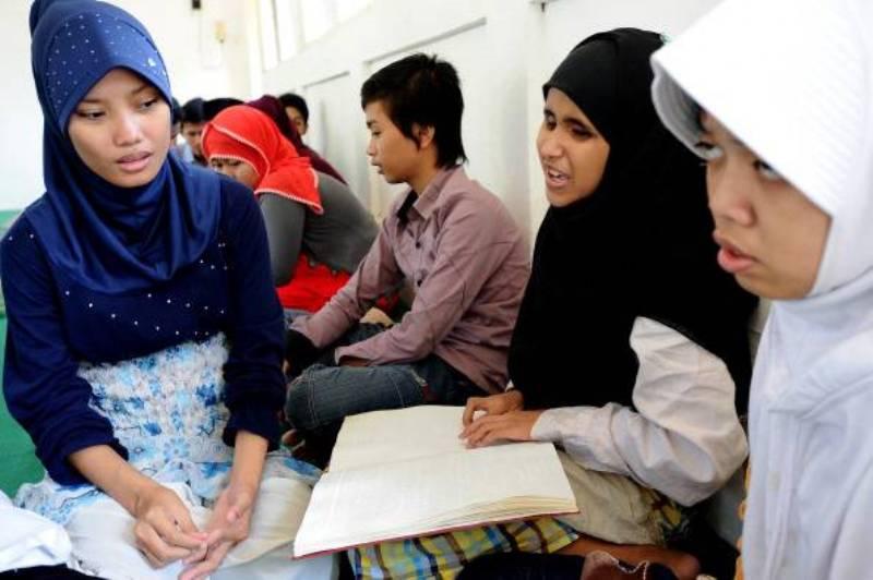 studentesse indonesia